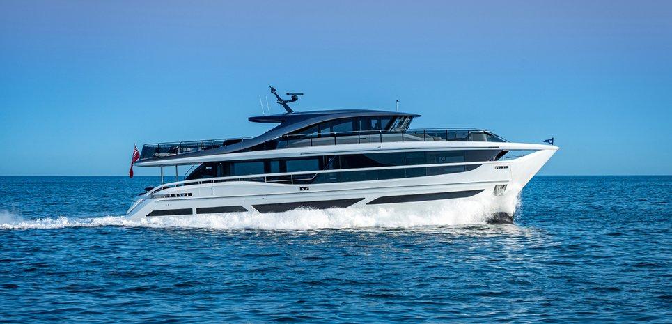 Princess X95/ 03 Charter Yacht