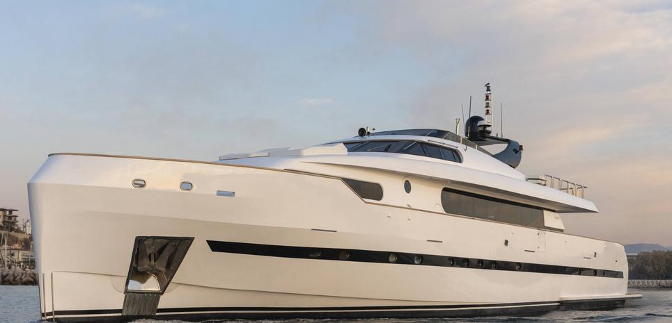 Project Steel Charter Yacht