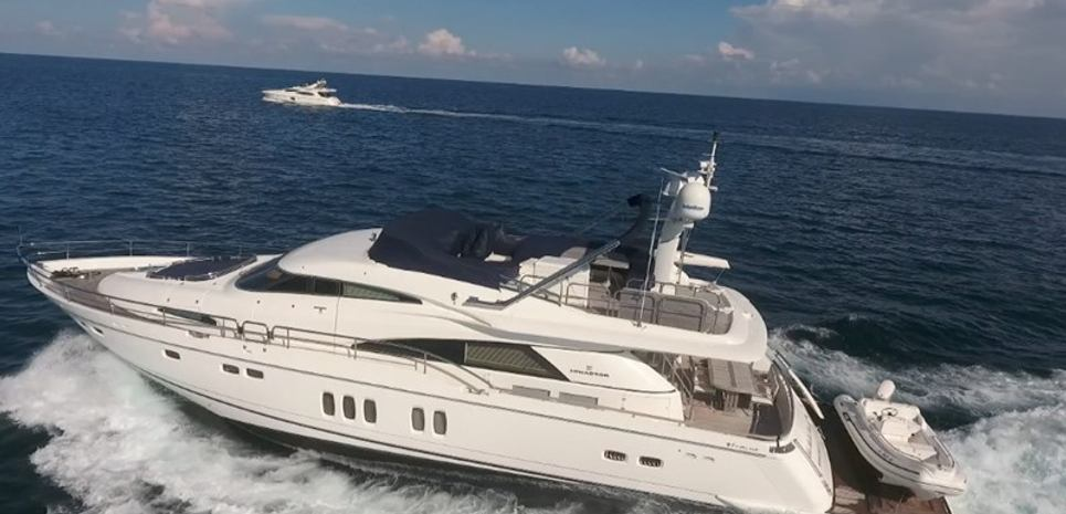 La Belle Shesh Charter Yacht