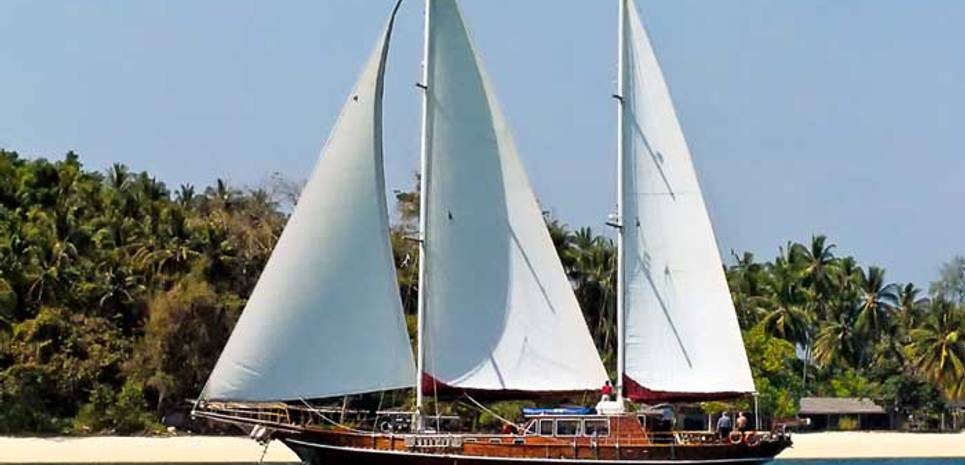 Classic Ketch Charter Yacht