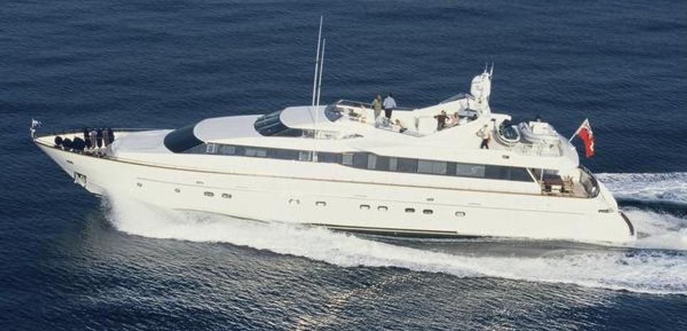Aquarius S Charter Yacht