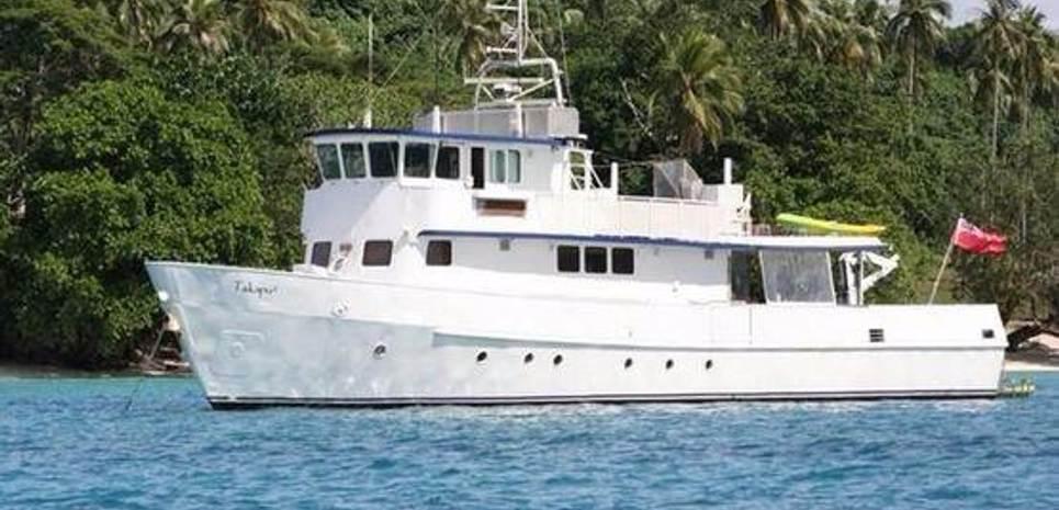 Takapu II Charter Yacht