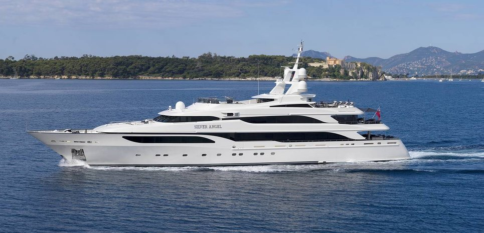 Silver angel yacht charter price benetti luxury yacht for Angel boats and motors