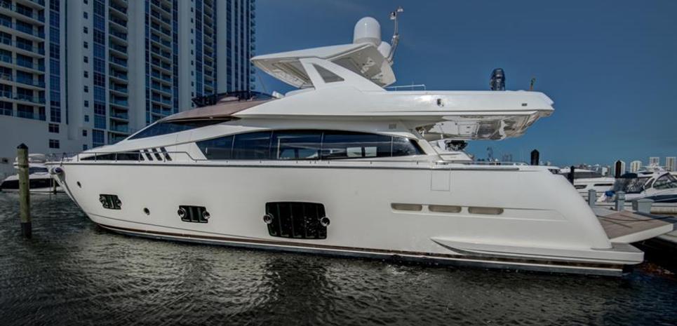 Ferretti 800 Charter Yacht