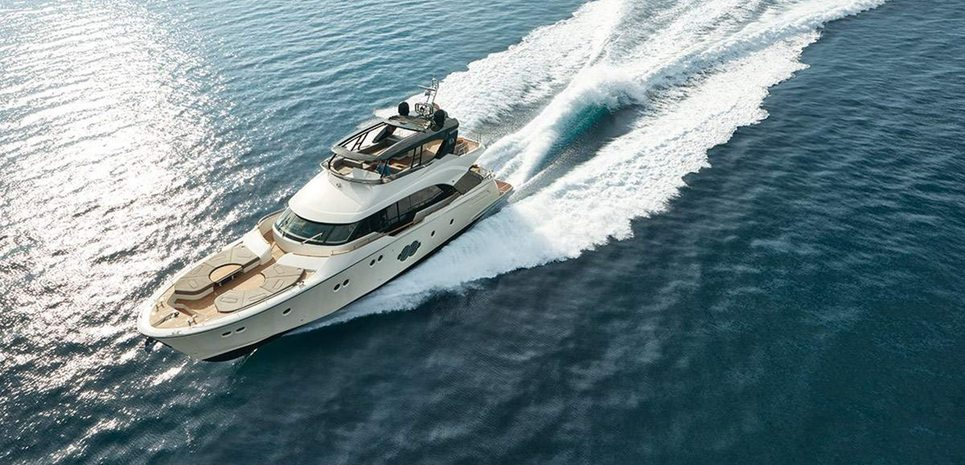 Monte Carlo 80 Charter Yacht