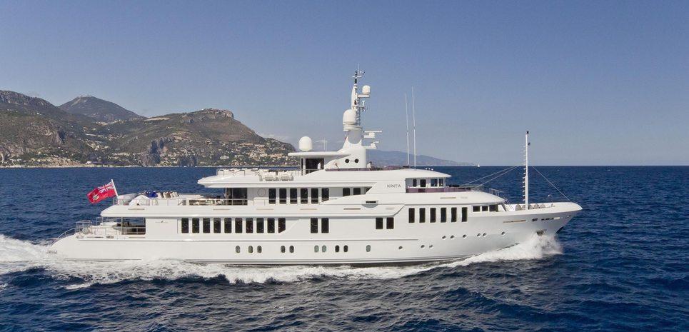 Kinta Charter Yacht