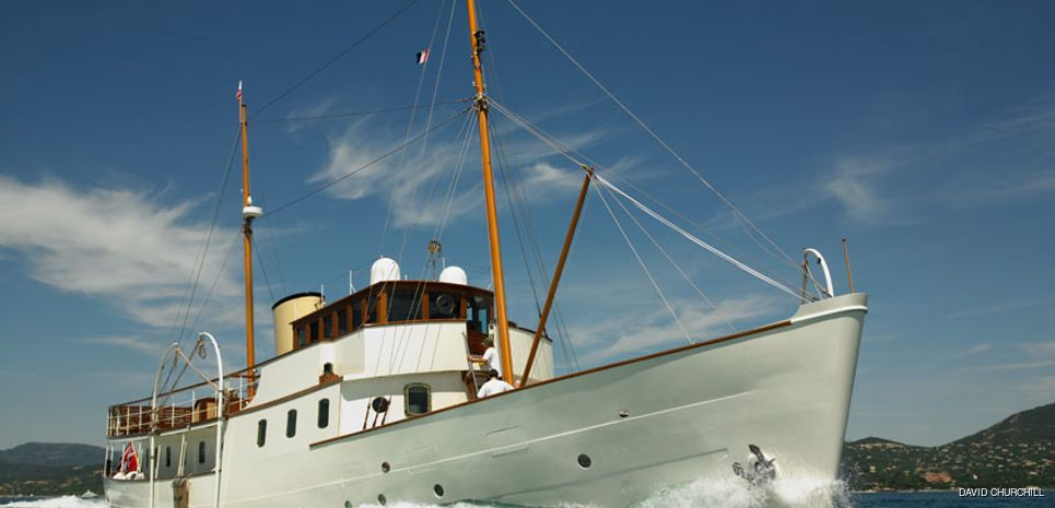 Blue Bird of 1938 Charter Yacht