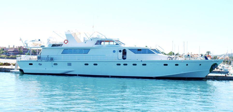 Iskandar Charter Yacht