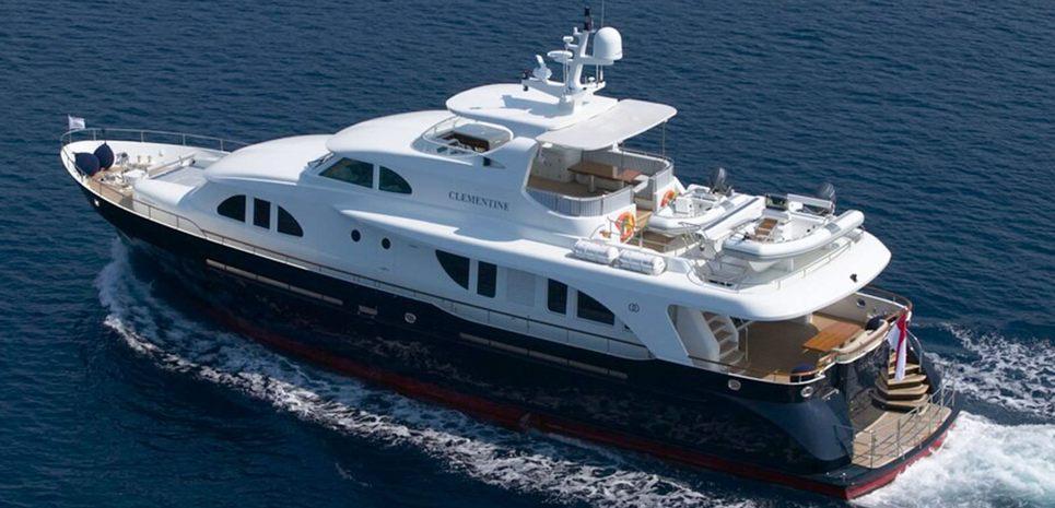 Clementine III Charter Yacht