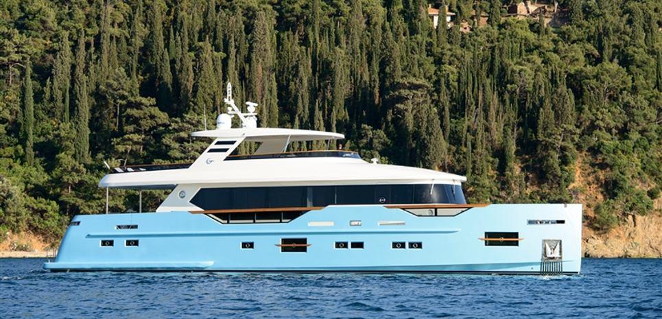 Mengy Yay - Custom Charter Yacht