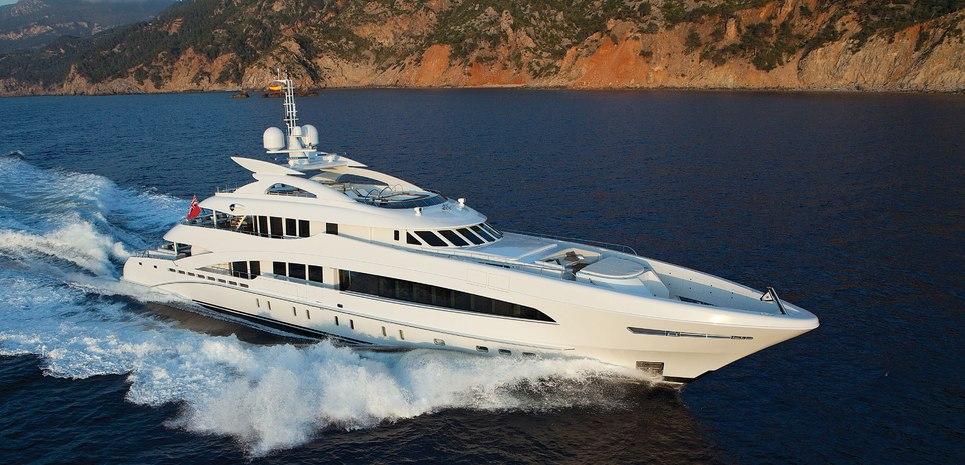 Man Of Steel Charter Yacht