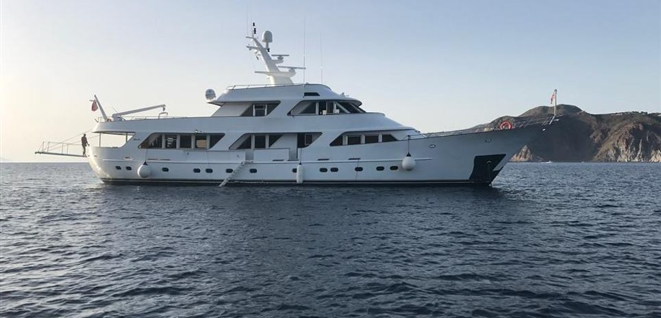 115' Classic Benetti Charter Yacht