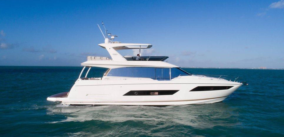 Moet Charter Yacht
