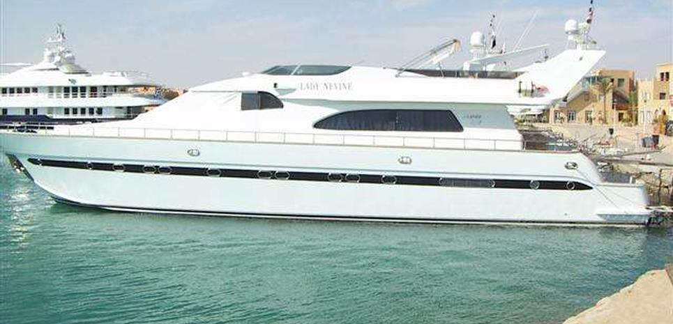 Lady Nevine Charter Yacht