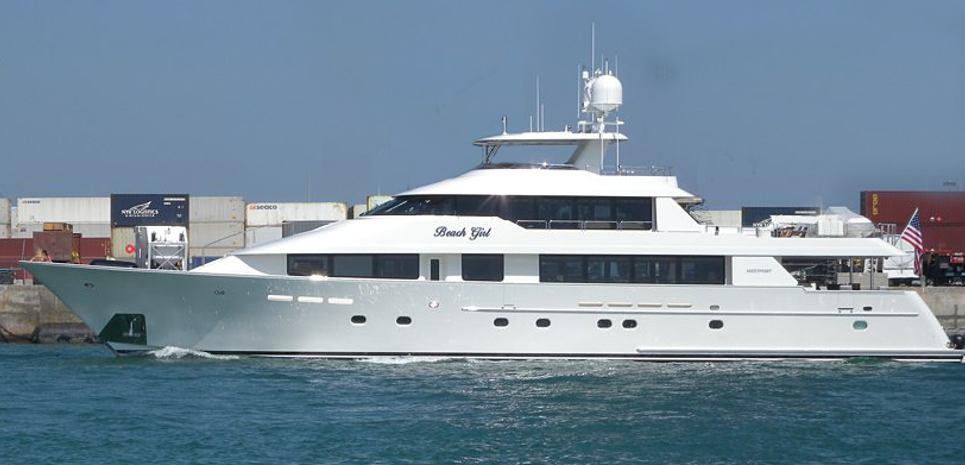 Beach Girl Charter Yacht