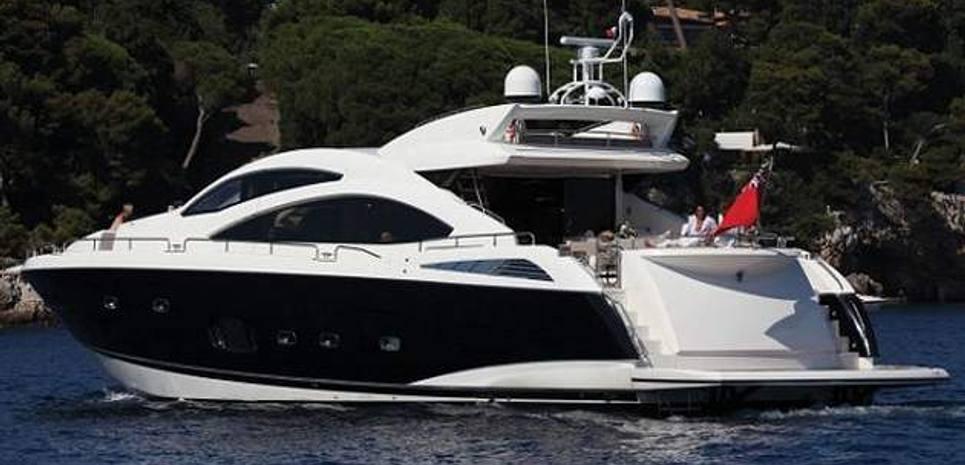Predator 84 Charter Yacht