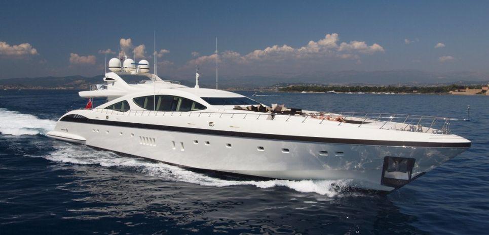 Rush Charter Yacht