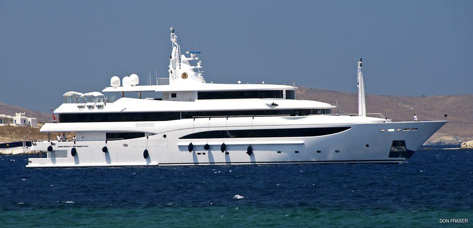 Tacanuyaso M S Charter Yacht
