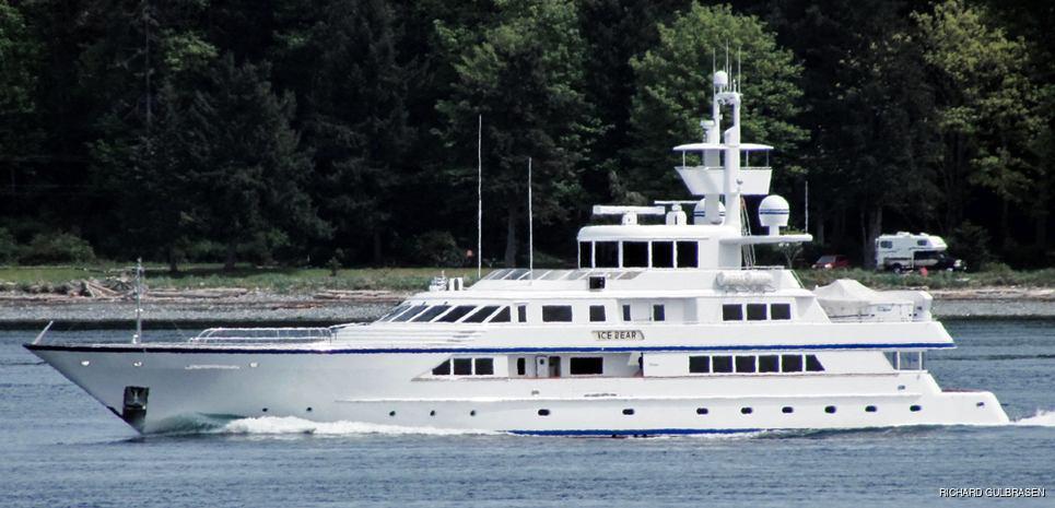 Ice Bear Charter Yacht