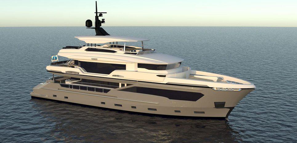 Kando 110/03 Charter Yacht