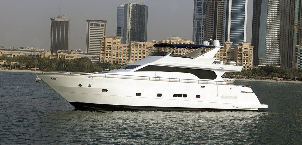 Zahraa Charter Yacht