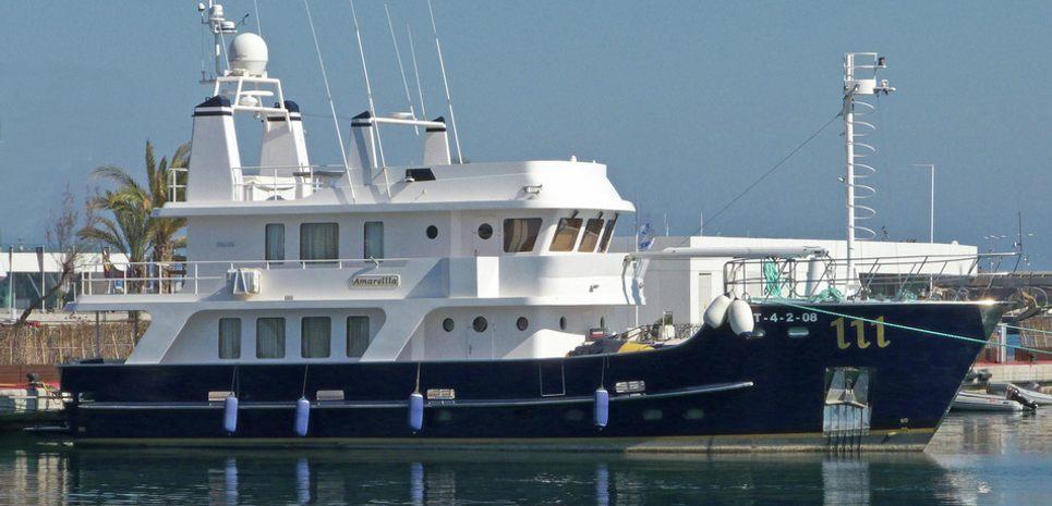 Amarella F Charter Yacht