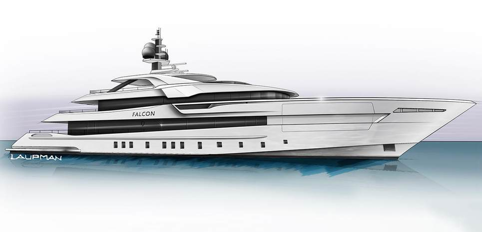 Project Falcon Charter Yacht