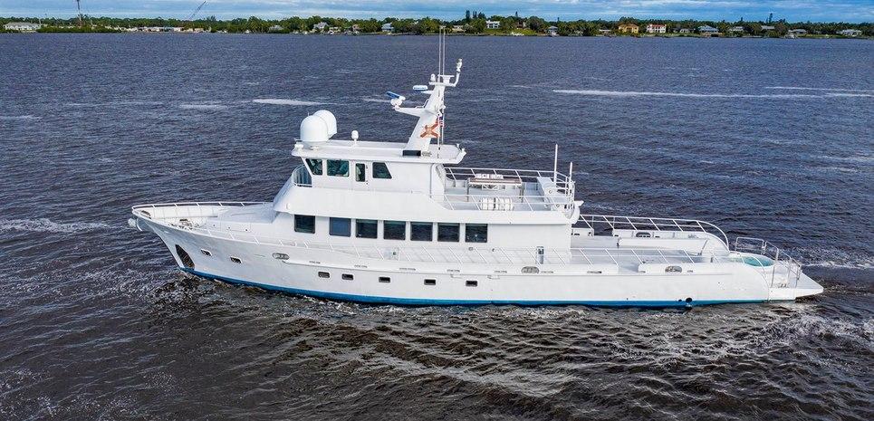 Reset Charter Yacht