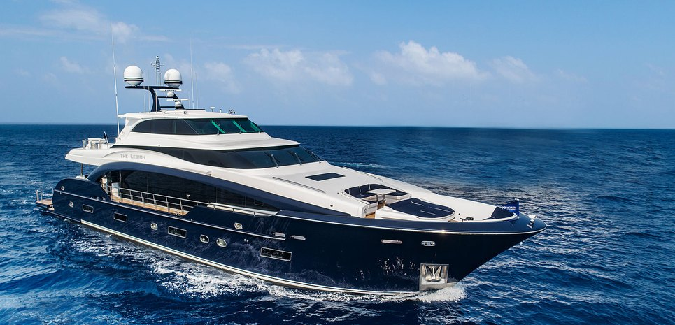 The Legion Charter Yacht