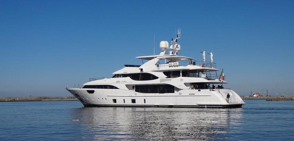 Luna Charter Yacht
