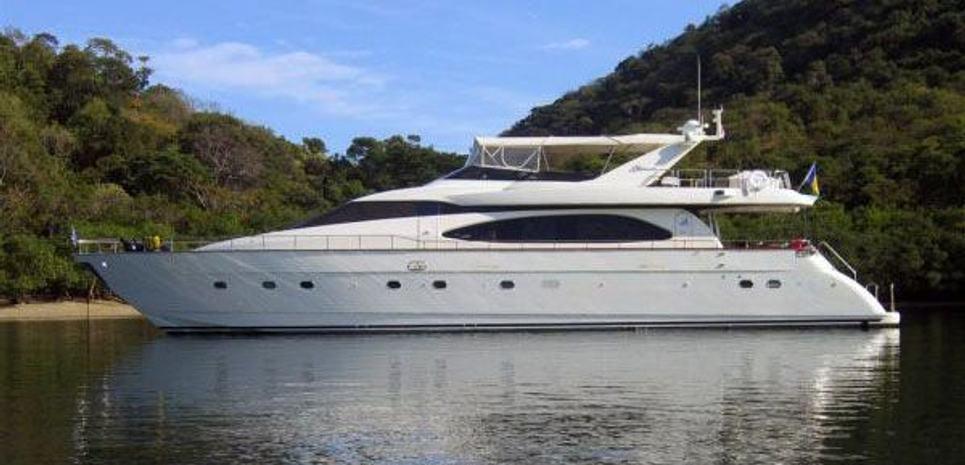 85' Azimut 2008 Charter Yacht