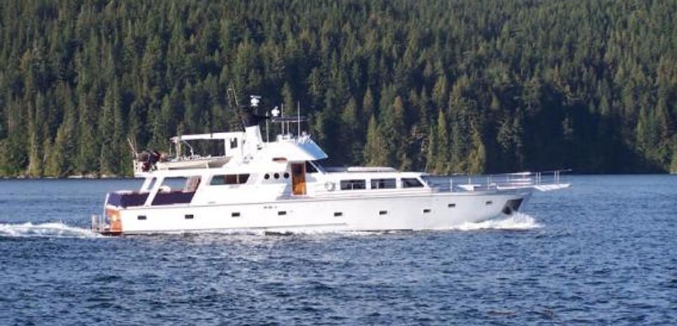 Alaskan Song Charter Yacht