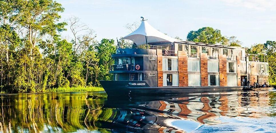 Aria Amazon Charter Yacht