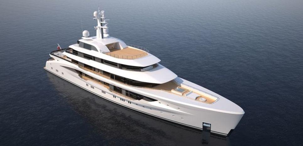 Amels 78m Custom Charter Yacht