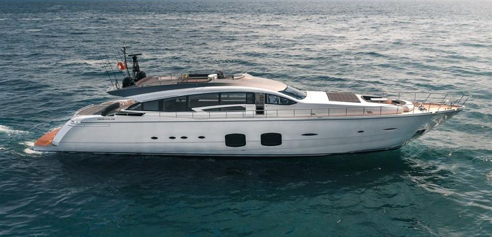 The F Charter Yacht