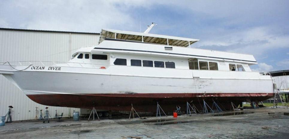 Ocean Diver Charter Yacht