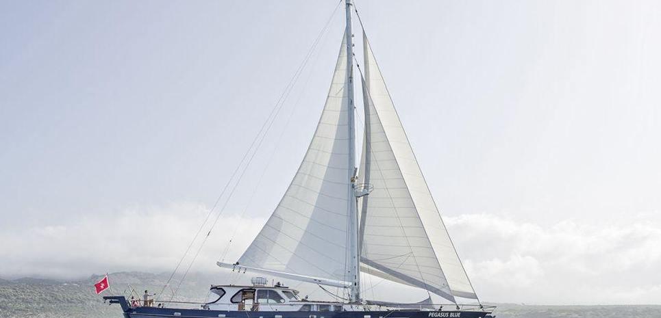 Pegasus Blue Charter Yacht