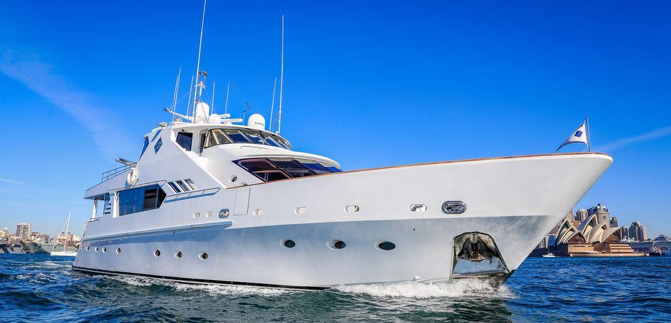 Galaxy I Charter Yacht