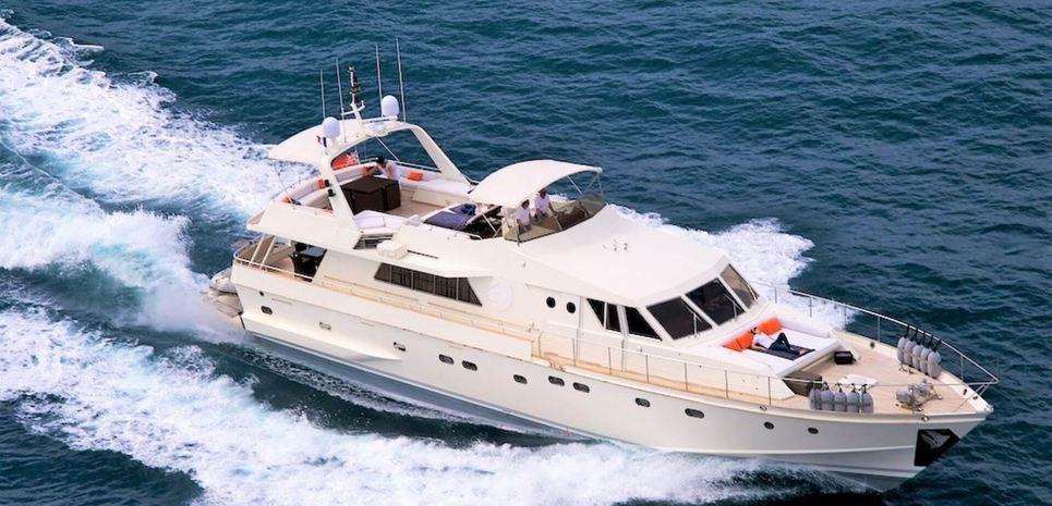 Laetitia Delta Charter Yacht