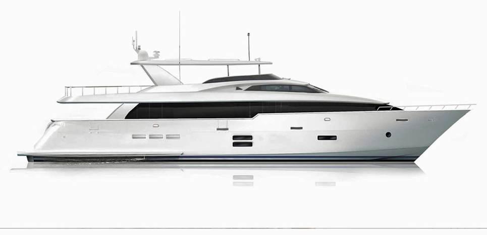 Hatteras 105RPH/ 02 Charter Yacht