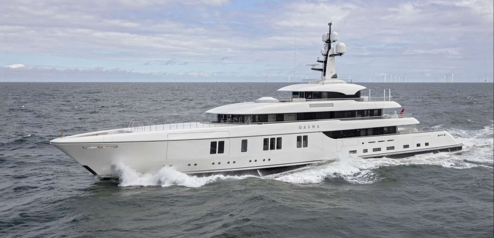 Hasna Charter Yacht