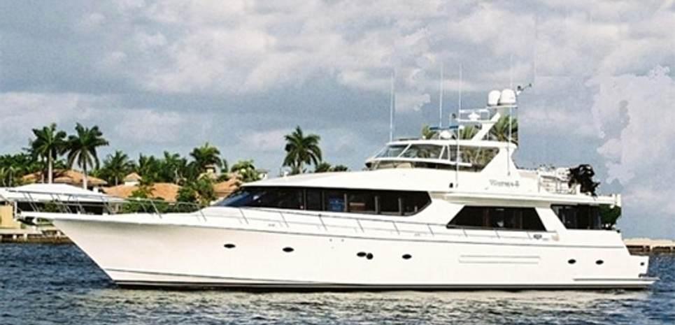 Lady Frances Charter Yacht