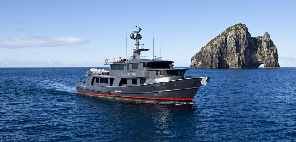 Pacific HQ Charter Yacht