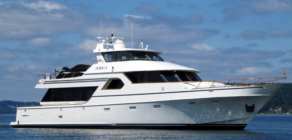 Vanguard Charter Yacht