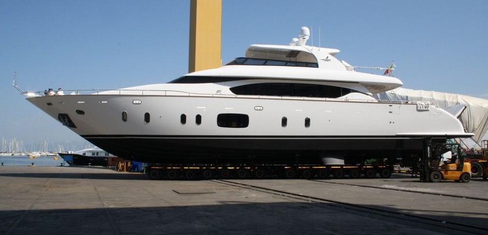 Efficient Propulsion Charter Yacht