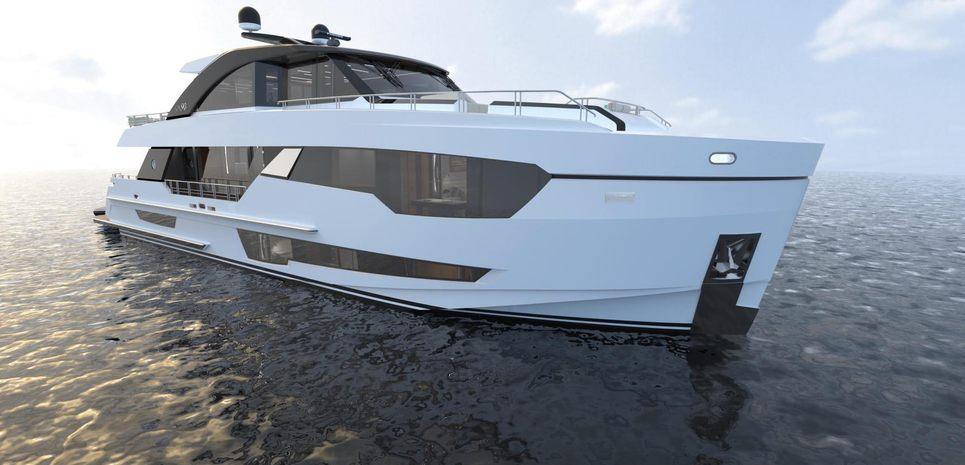 Ocean Alexander 90R02 Charter Yacht