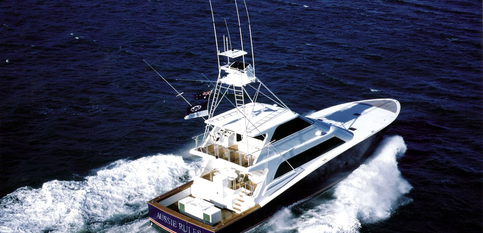 Aussie Rules Charter Yacht