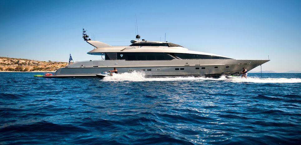 Pandion Charter Yacht