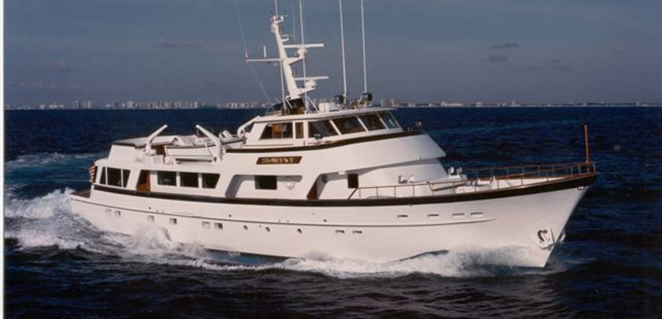 Stoneface Charter Yacht