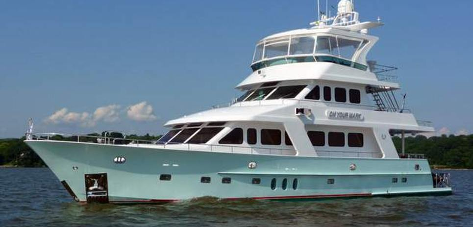 On Your Mark Charter Yacht